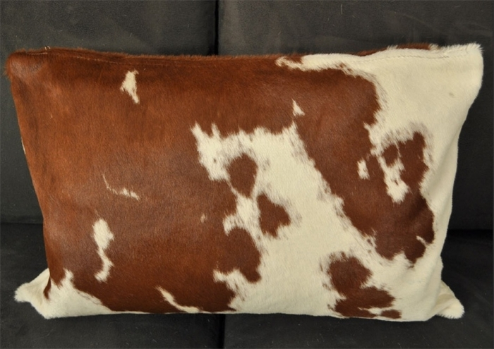 Cow hide pillow 40 x 60