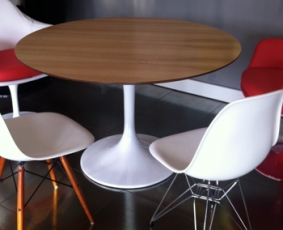 Wood Table 90 cm round