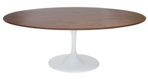 Wood Table 199 cm oval