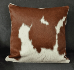 Cow hide pillow 50 cm