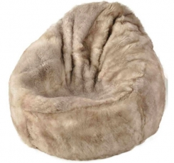 Sheep wool bean bag