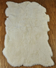 SHEEP Hide Carpet white